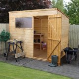 The Shiplap Pent Shed 8x6