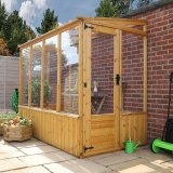 Pent Lean-To Greenhouse 8 x 4