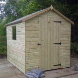 Bewdley Apex Shed 4'x4'