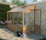 Evesham Lean-To Greenhouse 8 x 4