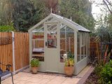 Kingfisher Wooden Greenhouse 6'8x18'10