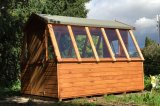 The Suntrap Greenhouse Shed 8'x8'