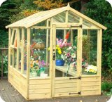 Metro Timber Greenhouse 6'7x9'