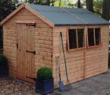 Heavy Duty Apex Shed 8'x6'