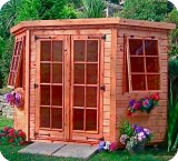 The Georgian Corner Summerhouse 7'x7'