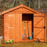 Tool Tidy Apex Shed 6'x2'6