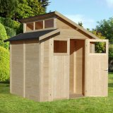 Skylight Shed Natural 7'x7'