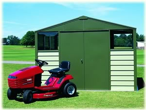 Trimetal Titan 108 Metal shed
