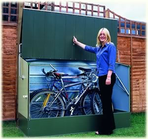 Trimetals Metal Bicycle Storage unit