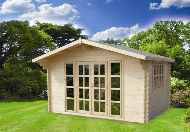 Brighton Log Cabin 3x3m