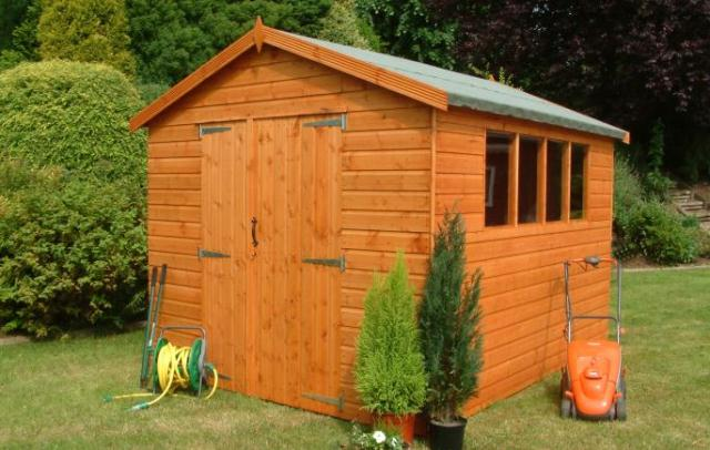 Supreme Workshop Shed 14'x8'