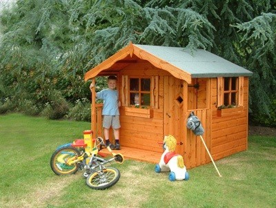 The Den Playhouse 6'x8' (1.82m x 2.43m)