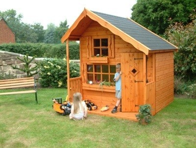 The Pine Lodge Playhouse 5'x7' (1.52m x 2.13m)