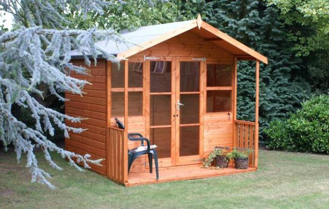 Popular Summerhouse 6x8 (1.82m x 2.43m)