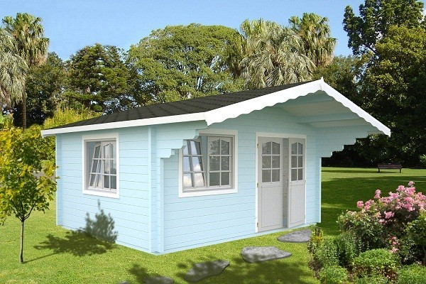 The Helena 70mm Superior Log Cabin 4.7mx3.8m