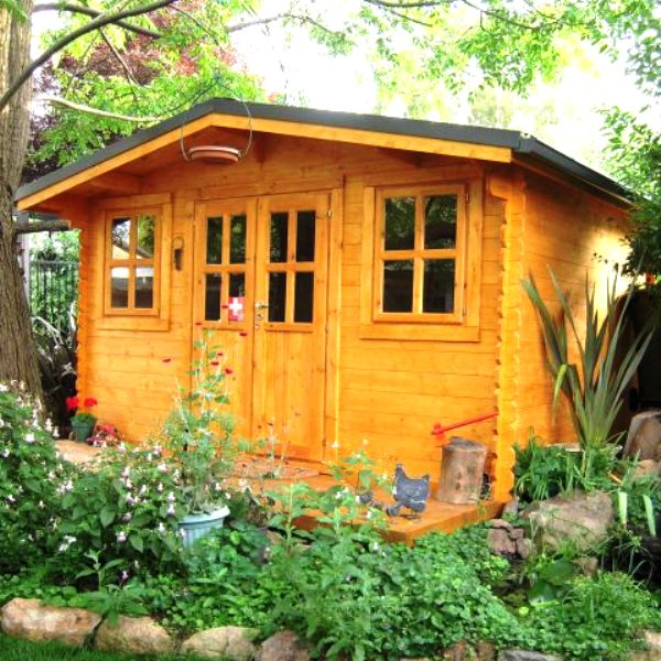 Oxford Log Cabin 4mx3m