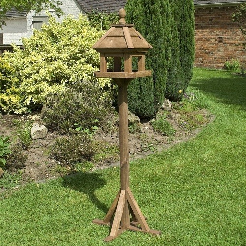 Lechlade Wooden Bird Table