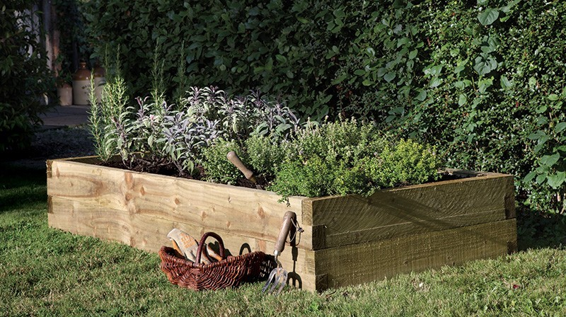 Forest Caledonian Raised Bed