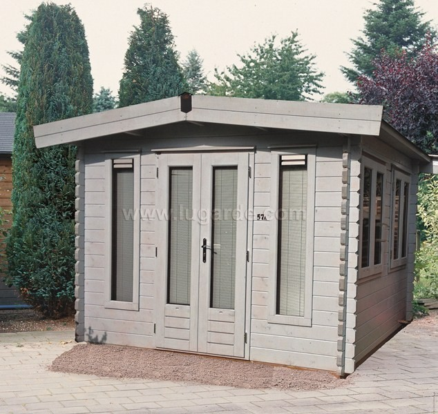 Lugarde York Log Cabin 3.6m x 3.6m