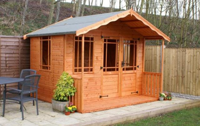 Blithbury Summerhouse 5'x8' Ready Built Free Delivery
