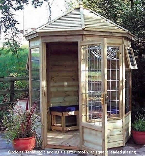 The Gazebo Summerhouse 7'7x7'7