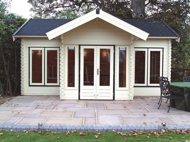 Lugarde Brooklyn Log Cabin 3.5mx6m including Floor