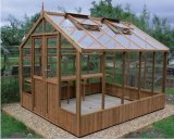 Raven Wooden Greenhouse 8'9x8'4