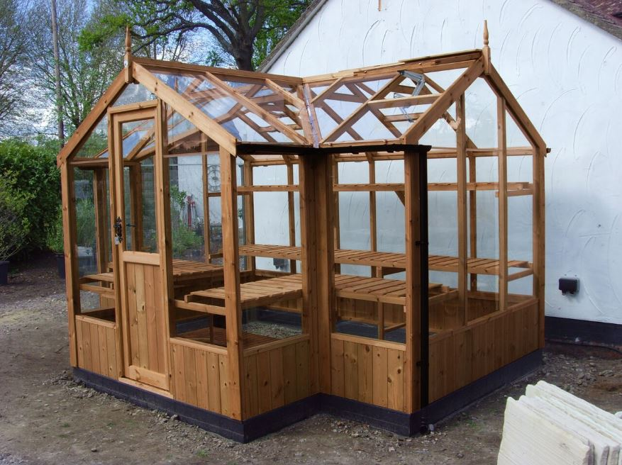 Cygnet Greenhouse 6'8x11'5 with porch