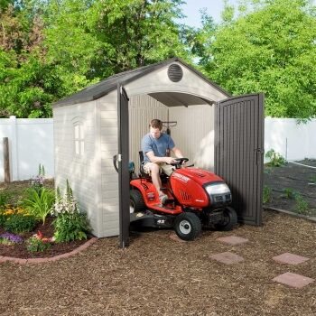 Lifetime Plastic Shed 8x7.5