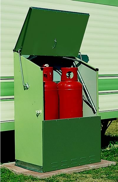 Senturion 247 Gas Bottle Metal Storage Unit