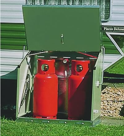 Sentinel Metal Gas Bottle Storage Unit