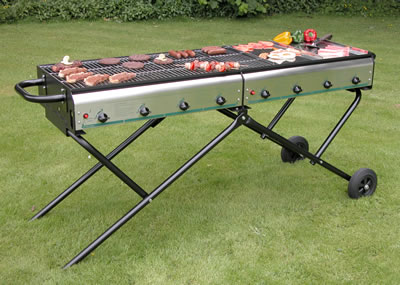 Magnum 8 Gas bbq with 8 burners