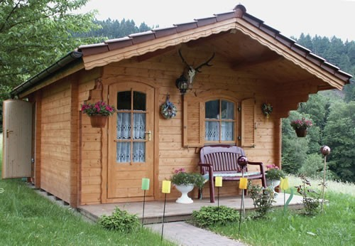 Bristol log cabin in 58mm logs
