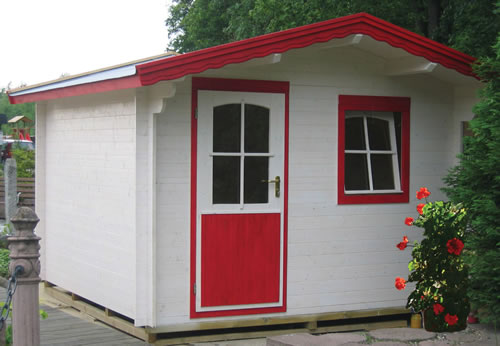 Stockholm 28mm log cabin