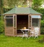 J-Class Georgian Pavilion Summerhouse 10'5x7'9