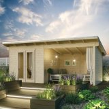 Oasis Log Cabin 5.5mx2.5m