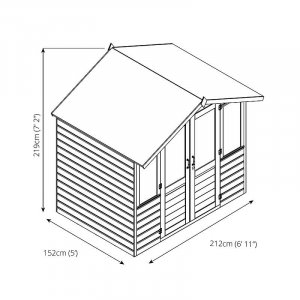 Bournemouth Summer House 7 x 5