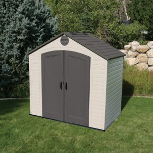 Lifetime Plastic Shed 8'x5'