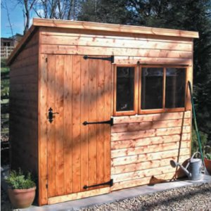 Heavy Duty Pent Shed 10'x6'