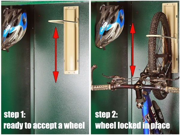 Asgard Vertical Bike Locker Instructions