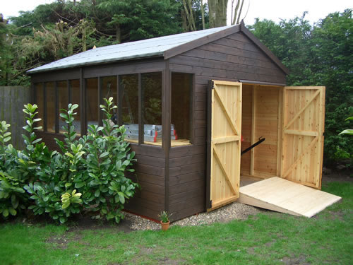 Heavy duty workshop and potting shed