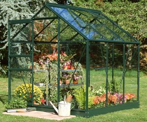 Popular 66 Aluminium Greenhouse 6'3x6'3