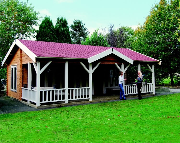 Lugarde Bonaire Log Cabin in 44 or 68mm Logs