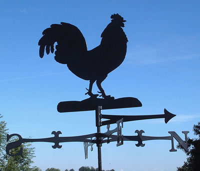 Traditional Style Weather Vane NB. This is a Robin Design