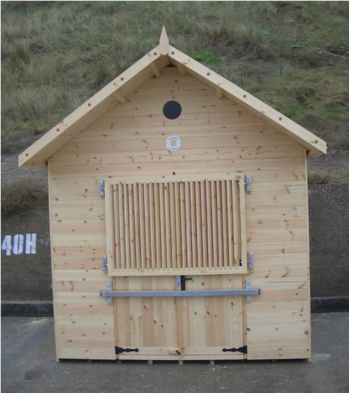 Bespoke beach hut for the Sheringham promenade